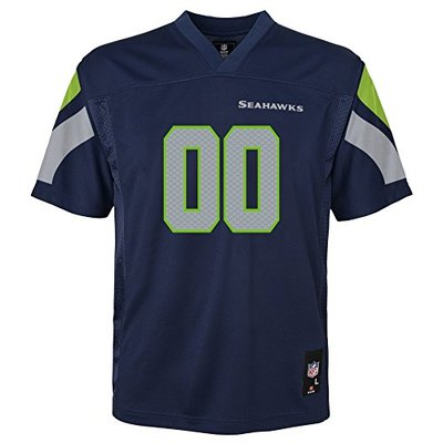 NFL by Outerstuff Kids & Youth Team Color Fashion Jersey Seattle Seahawks, 24 Months