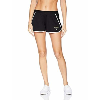 OTS NFL New Orleans Saints Women's Poly Dot Sport Shorts, Davis, Small