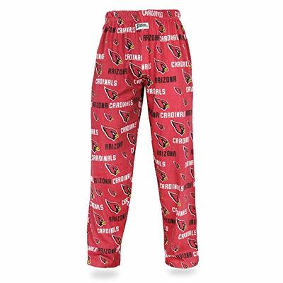 Zubaz NFL Arizona Cardinals Men's Comfy Pants, Maroon, Medium