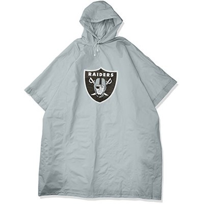 "New Football Team Raiders Poncho Deluxe 44"" x 49″ Licensed"