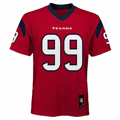 Outerstuff JJ Watt Houston Texans #99 NFL Youth Mid-Tier Alternate Jersey Red (Youth Large 14/16)