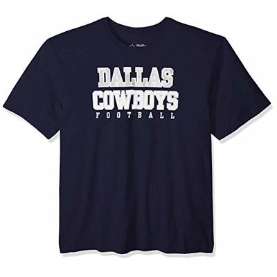 NFL Dallas Cowboys Youth Practice Tee, Large, Navy