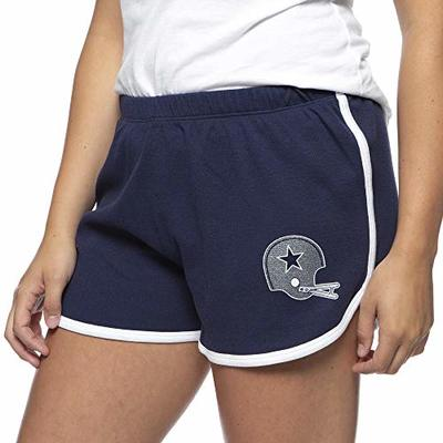 Dallas Cowboys NFL Womens Lauren James Roxie Short, Navy, Large