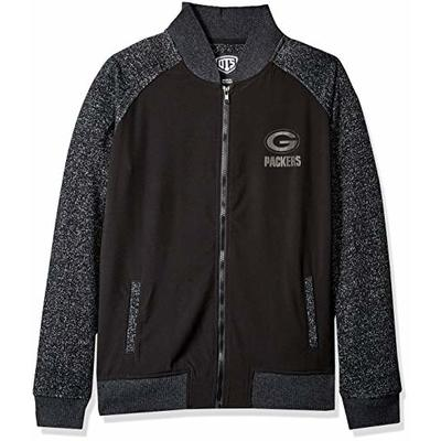 OTS NFL Green Bay Packers Women's Mia Jacket, Logo, Large