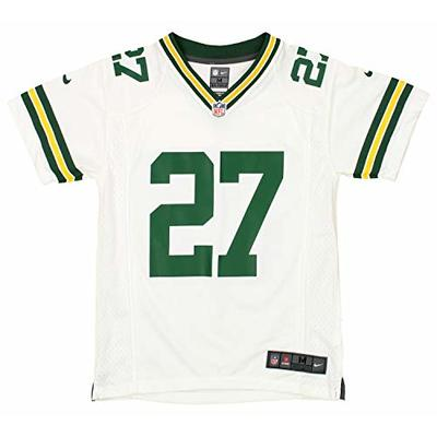 Outerstuff NFL Youth Boys Green Bay Packers Eddie Lacy Player Jersey, White, Large