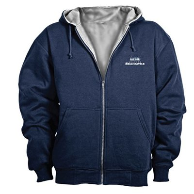 Dunbrooke NFL Craftsman Full Zip Thermal Hoodie, Seattle Seahawks – X-Large