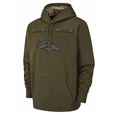 Denver Broncos 2018 NFL Salute to Service Men's STS Therma Hoody (X-Large)