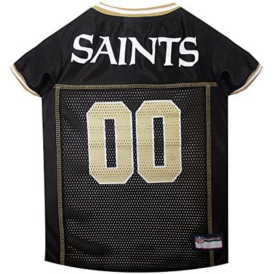 Pets First New Orleans Saints NFL Mesh Pet Jersey