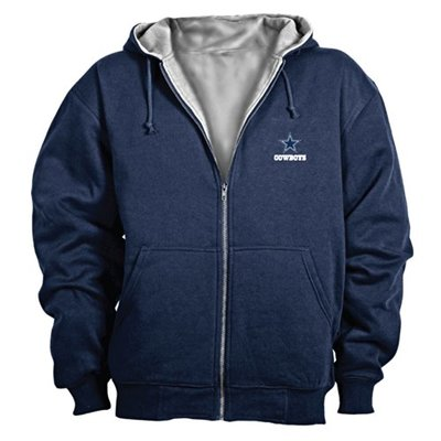 Dunbrooke NFL Craftsman Full Zip Thermal Hoodie, Dallas Cowboys – 3X