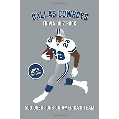 DALLAS COWBOYS TRIVIA QUIZ BOOK: 500 QUESTIONS ON By Chris Bradshaw *BRAND NEW*