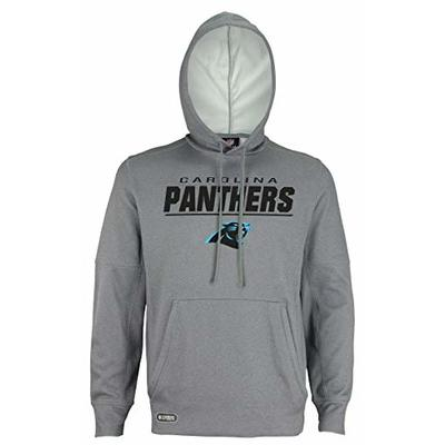 New Era NFL Football Men's Stated Pullover Performance Hoodie, Carolina Panthers, XX-Large