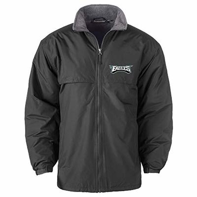 NFL Philadelphia Eagles Triumph Fleece Lined Mid Weight Jacket, Large, Forest