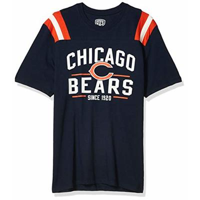 OTS NFL Chicago Bears Men's Lineup Short Sleeve Tee, Line Up, Large