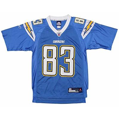 NFL Mens Los Angeles Chargers Vincent Jackson #83 Retired Player Jersey, Blue, X-Large