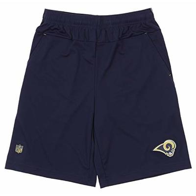 Outerstuff NFL Boys Flash Athletic Shorts, Los Angeles Rams Large (14/16)