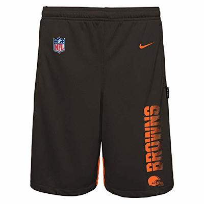 NFL Big Boys Youth (8-20) Knit Player Shorts, Cleveland Browns XL 18-20