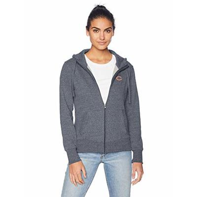 OTS NFL Chicago Bears Women's Frontside Full-Zip, Logo, Medium