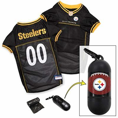 NFL PITTSBURGH STEELERS DOG Jersey, Large