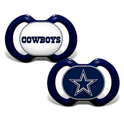 NFL Football 2014 Baby Infant Pacifier 2-Pack – Pick Team (Dallas Cowboys – Stripe)