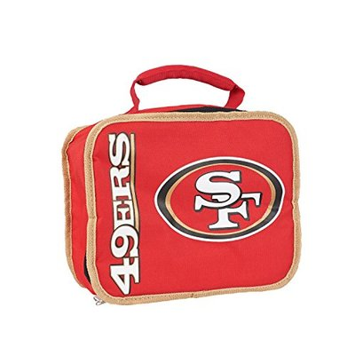 """NFL San Francisco 49ers """"Sacked"""" Lunch Kit, 10.5″ x 8.5″ x 4″"""