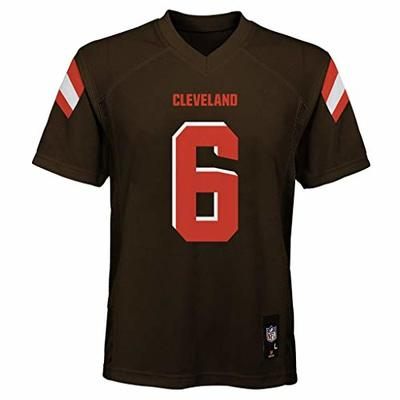 Baker Mayfield Cleveland Browns NFL Kids 4-7 Brown Home Mid-Tier Jersey (Kids 7)