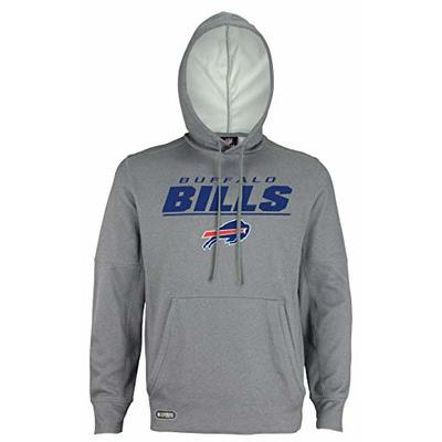 New Era NFL Football Men's Stated Pullover Performance Hoodie, Buffalo Bills, X-Large
