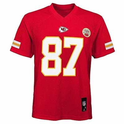 Travis Kelce Kansas City Chiefs NFL Kids 4-7 Red Home Mid-Tier Jersey (Kids 7)