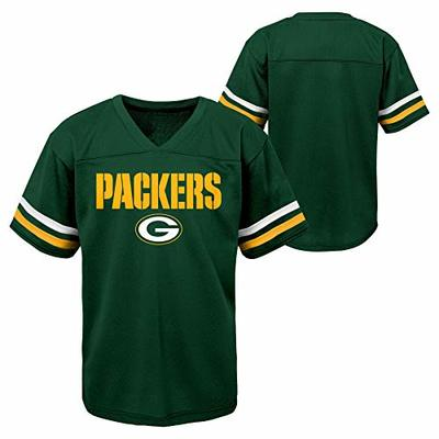 Outerstuff NFL Toddlers Short Sleeve Football Team Jersey, Green Bay Packers 3T