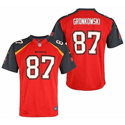 Nike NFL Boys Youth NFL Game Team Jersey Gronkowski ROB Tampa Bay Buccaneers Size BL146