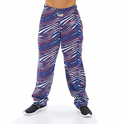 NFL Men's Classic Zebra Print Team Logo Pants, Buffalo Bills XX-Large