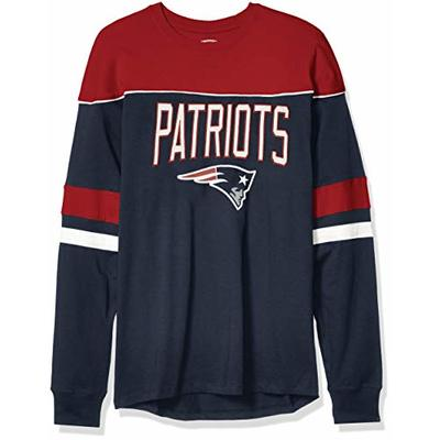 OTS NFL New England Patriots Men's Division Long Sleeve Tee, Division, X-Large