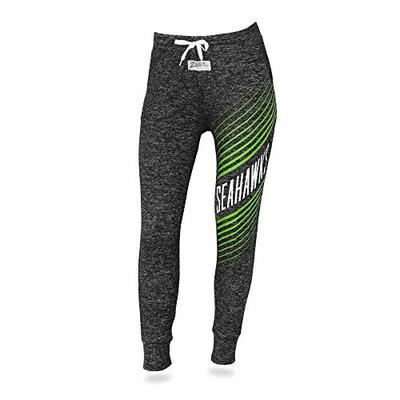 Zubaz NFL Seattle Seahawks Female Joggers, Large, Gray