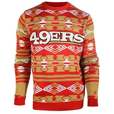 Klew NFL Football 2015 Aztec Ugly Crew Neck Holiday Sweater – Pick Team (Arizona Cardinals, XL)