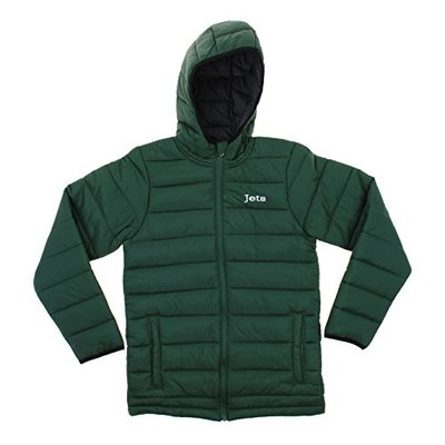 Outerstuff NFL Youth Solid Packawy Puffer Jacket, New York Jets
