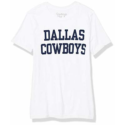 NFL Dallas Cowboys Womens Coaches Too Crew, White, Large