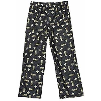 Gerber New Orleans Saints Big Boys, Kids NFL Team Pajama Pant (X-Small (4-5))