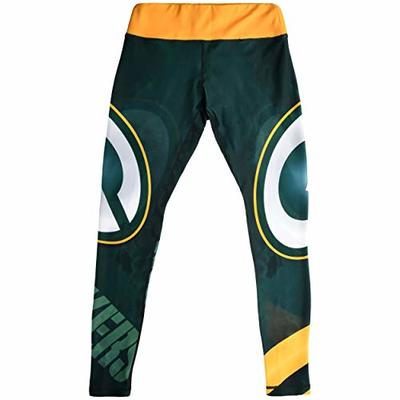 FOCO NFL Green Bay Packers Sky Big Logo Legging – Womens Small