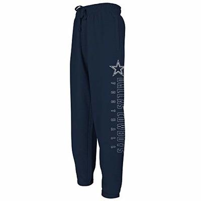 NFL Dallas Cowboys Mens Selby Sweatpants, Navy, X-Large