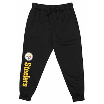 Zubaz NFL Pittsburgh Steelers Men's Poly Fleece Jogger Size Medium