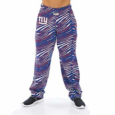 NFL Men's Classic Zebra Print Team Logo Pants, New York Giants XX-Large