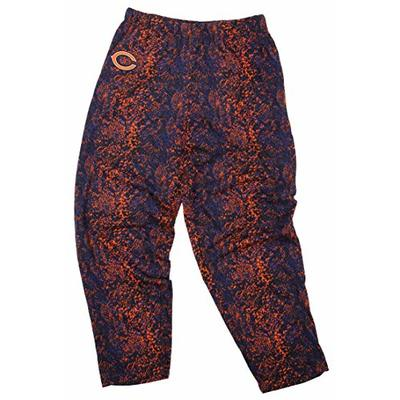 Zubaz NFL Chi Bear NVY/Org Post PNT Medium