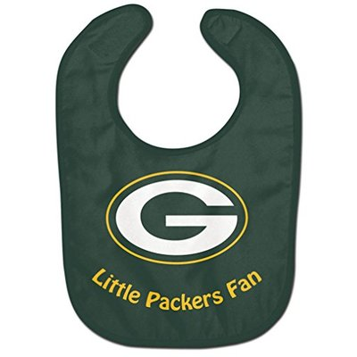 WinCraft NFL Green Bay Packers WCRA2047914 All Pro Baby Bib
