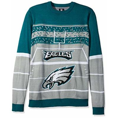NFL Philadelphia Eagles STADIUM LIGHT UP Ugly Sweater, X-Large