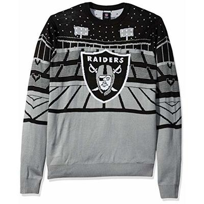 NFL Oakland Raiders BLUETOOTH Ugly Sweater, Small