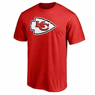 NFL Boys Youth 8-20 Team Color Primary Logo T-Shirt (Kansas City Chiefs, Youth Large 14-16)