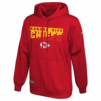 New Era NFL Men's Scoreboard Pullover Performance Hoodie, Kansas City Chiefs Large