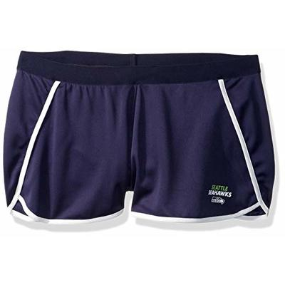 OTS NFL Seattle Seahawks Women's Poly Dot Sport Shorts, Davis, Large