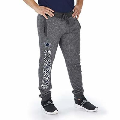 Zubaz Officially Licensed NFL New England Patriots Dark Heather Gray Marled French Terry Jogger XX-Large