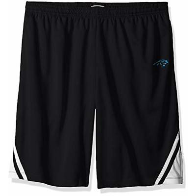 OTS NFL Carolina Panthers Men's Poly Dot Athletic Shorts, Poly Dot Athletic Short, X-Large