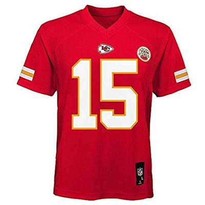 Outerstuff Patrick Mahomes Kansas City Chiefs NFL Infants 12-24 Months Red Home Mid-Tier Jersey (Infants 12 Months)
